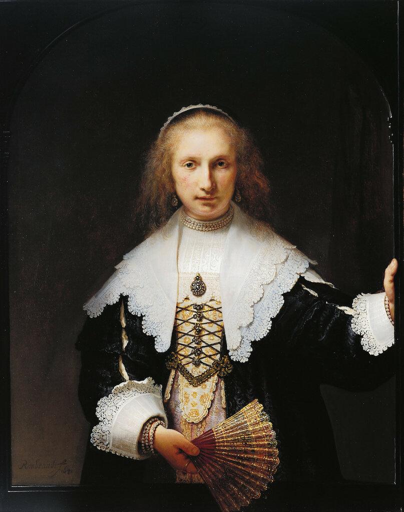 124.Портрет Агаты Бас, 1611-1658 (1641) (104 х 82 см) (Букингемский дворец).jpg