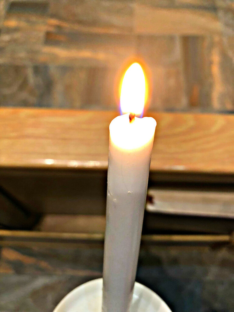 Церемония зажжения свечей