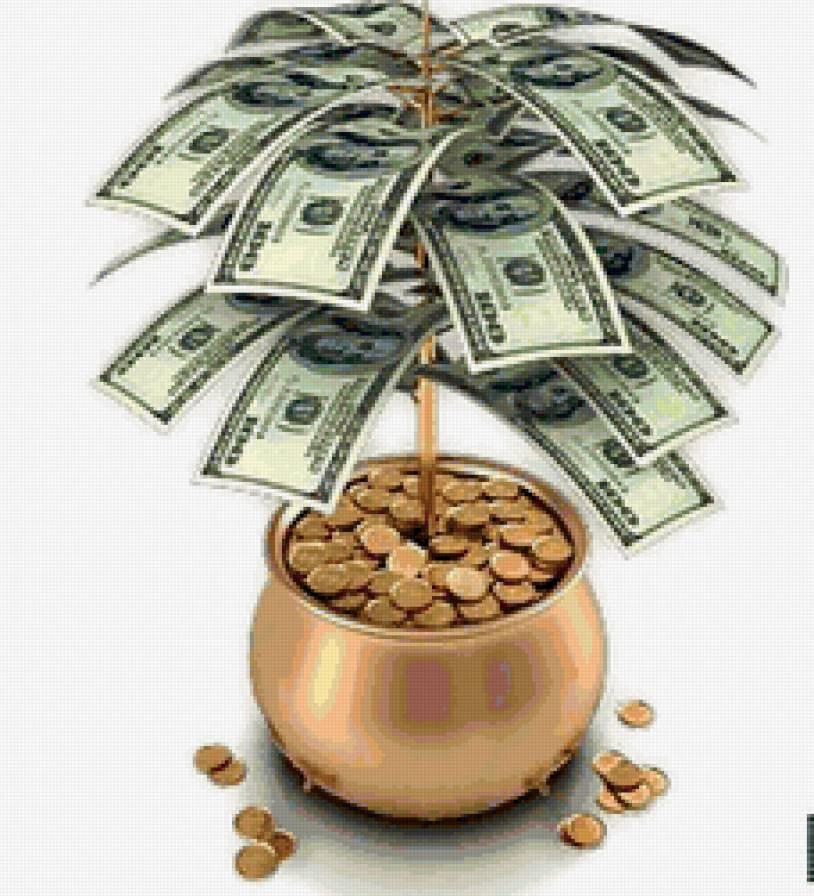 31 октября. Всемирный день экономии. Дерево из долларов