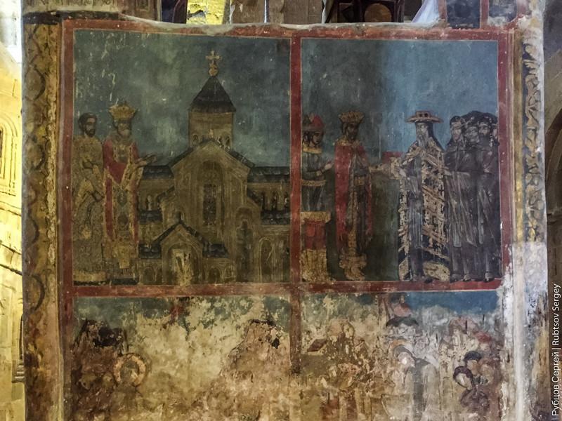 Старая фреска: