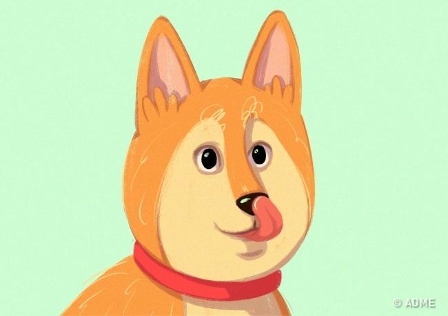 Собака ведет себя так, когда испытывает стресс, давление или чувствует опасность.  Показывает зуб