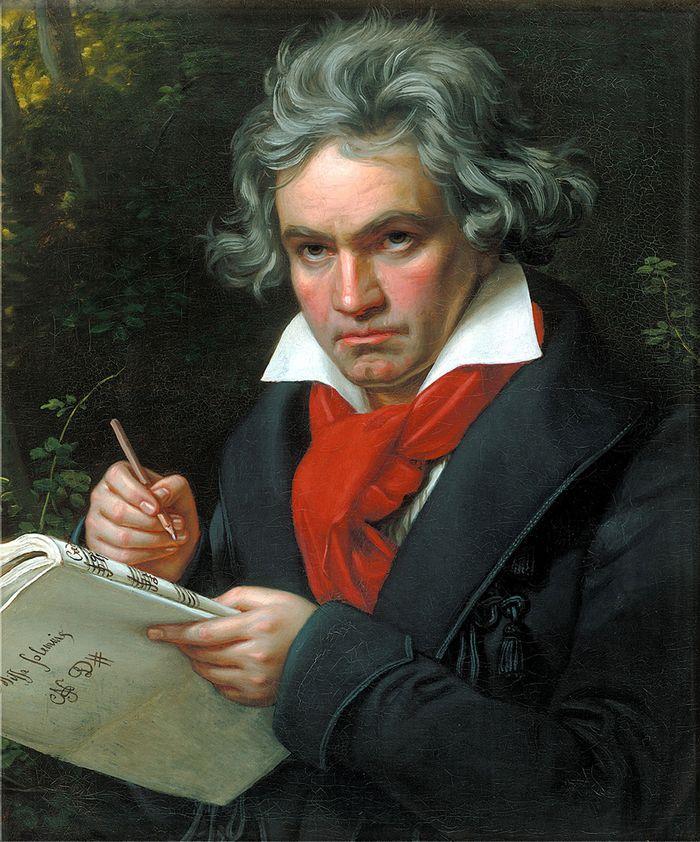 Людвиг ван Бетховен Композитор никогда не принимал ванну, а в ответ на возмущенные возгласы окружающ
