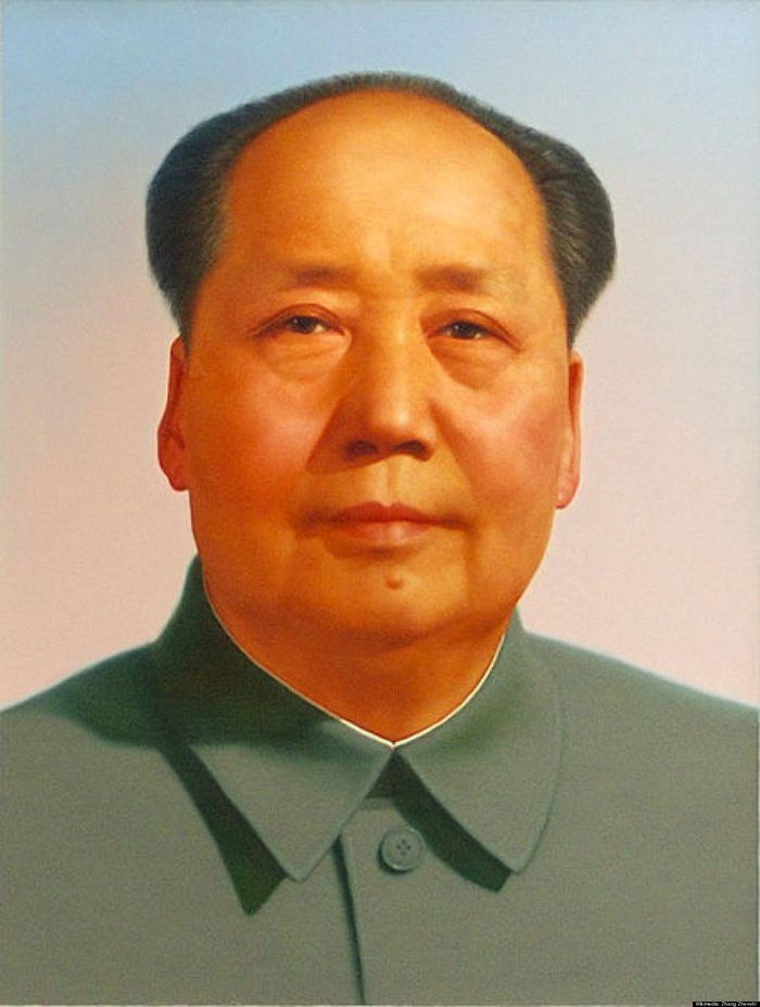 Мао Цзэдун Изобретатель маоизма никогда не мылся и не чистил зубы, объясняя, что тигры никогда не мо