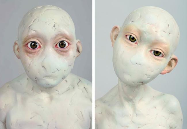 Скульптор создал серию работ ожизни вСеверной Корее (8 фото)