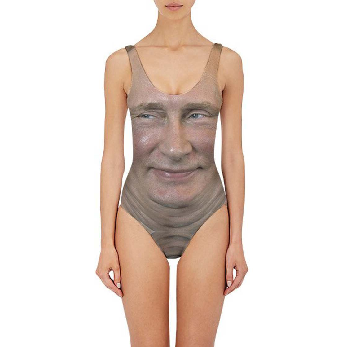 Weird swimsuits with Donald Trump, Hilary Clinton or Vladimir Putin?