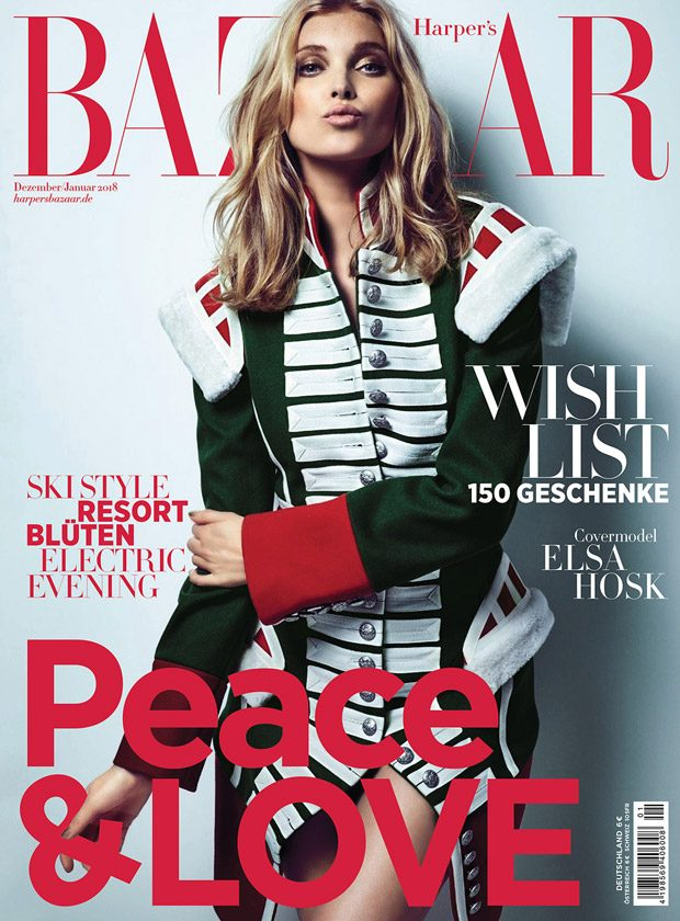 Victoria's Secret Angel Elsa Hosk Stuns for Harper's Bazaar Germany (11 pics)