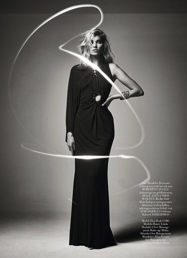 Victoria's Secret Angel Elsa Hosk Stuns for Harper's Bazaar Germany