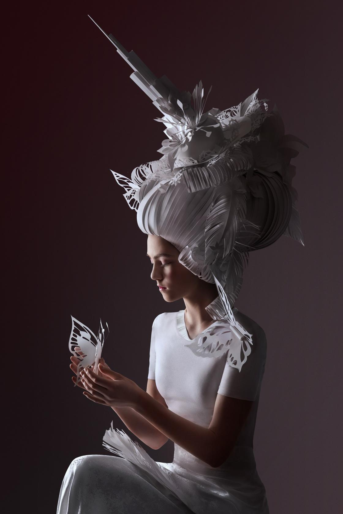 Fashion Paper – The latest paper creations by artist Asya Kozina