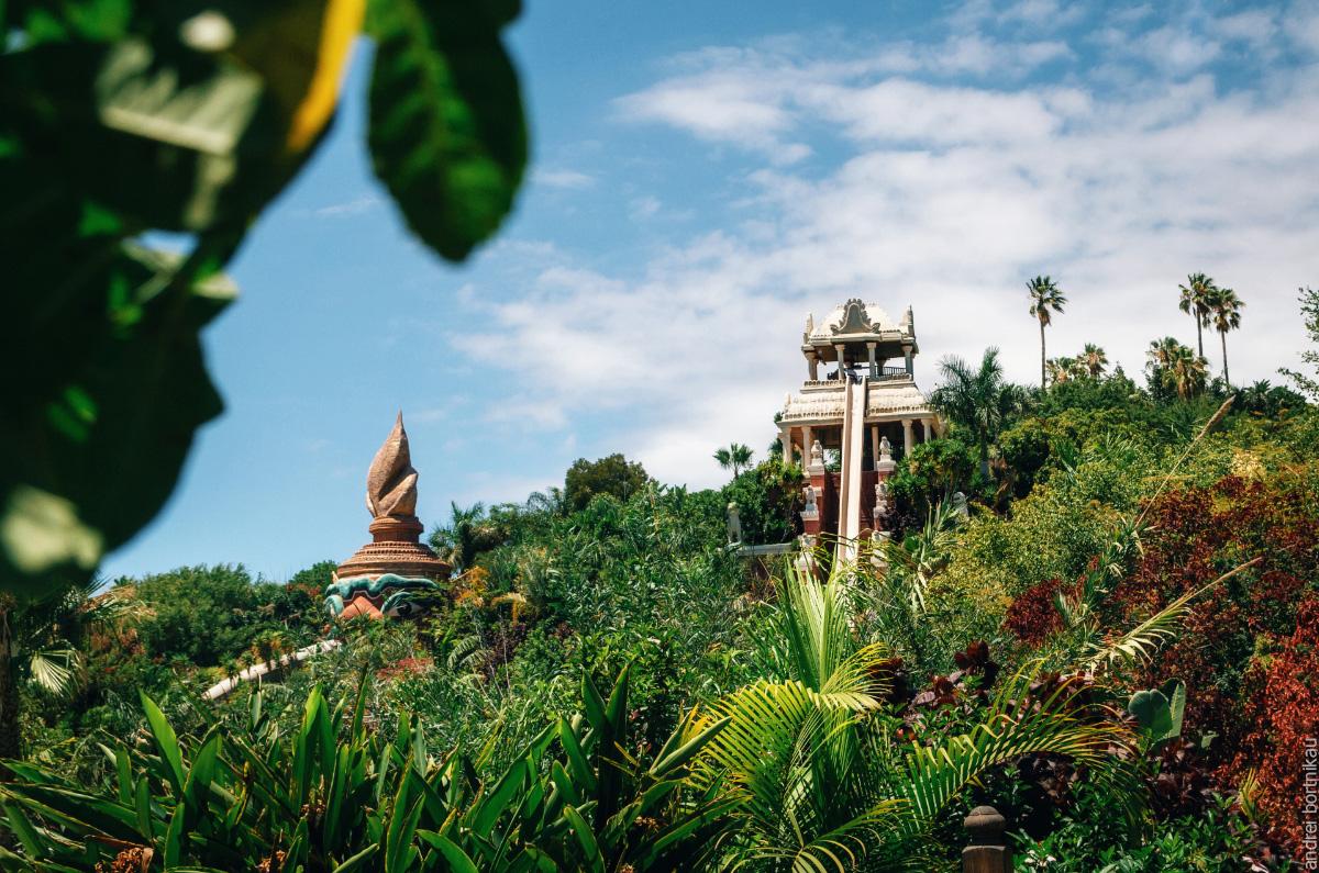 Тенерифе, Канарские острова, Канары. Сиам Парк