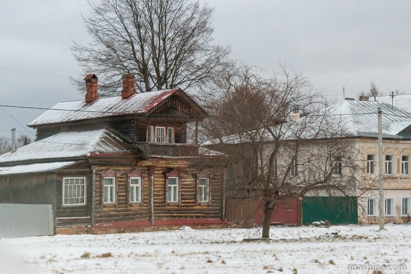 Старый деревянный дом, Углич