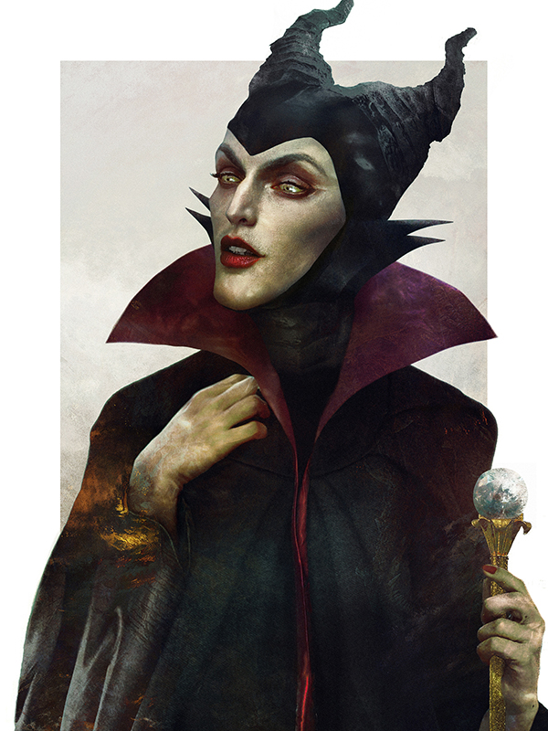 Artist Shows Us What Disney Villains Would Look Like In Real Life