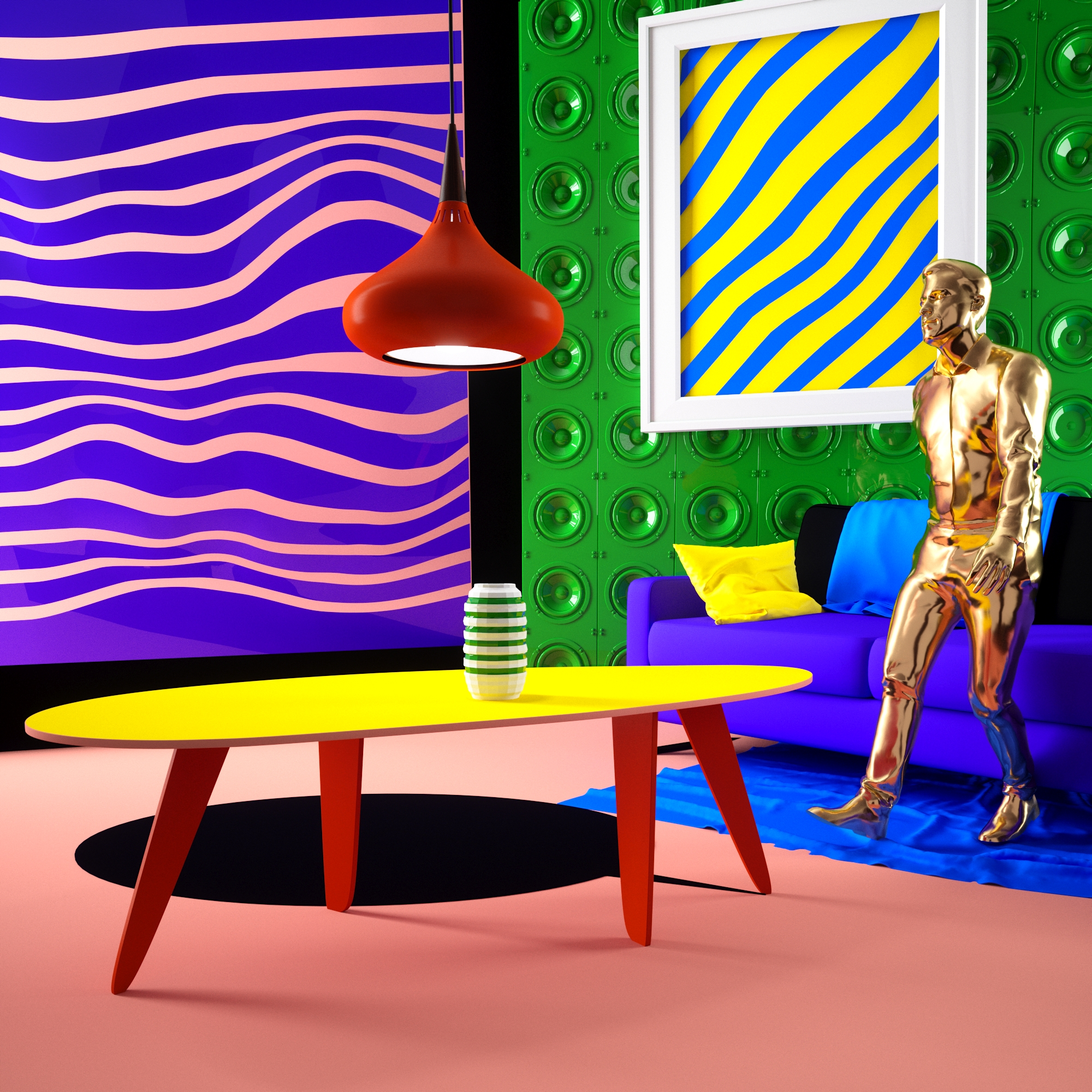 Surreal and Colourful Artwork by OUUM Studio