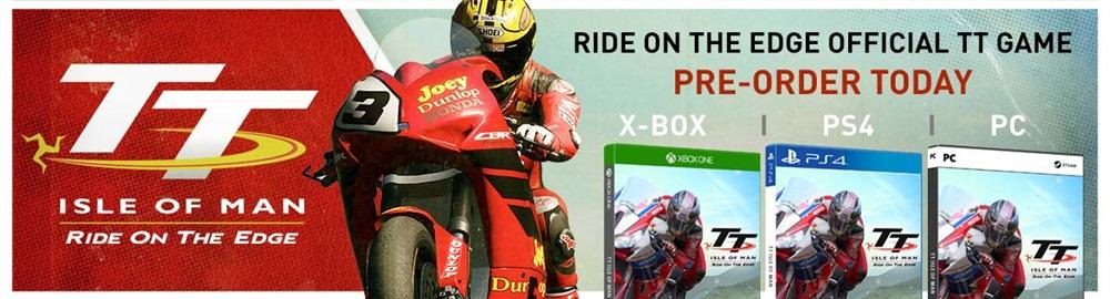 Появился предзаказ на видеоигру «Isle of Man TT: Ride on the Edge»