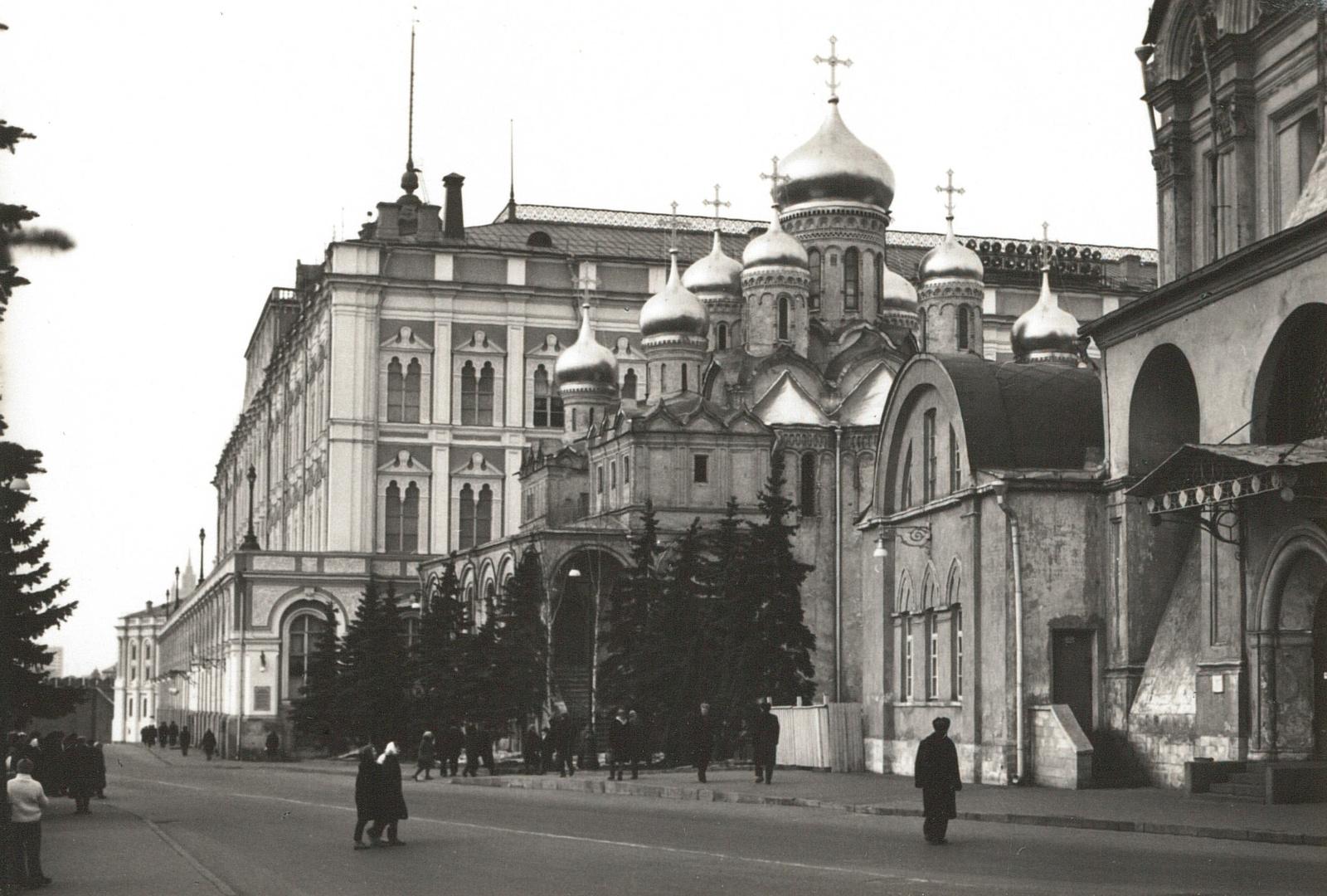 Москва. Кремль. Большой Кремлевский дворец
