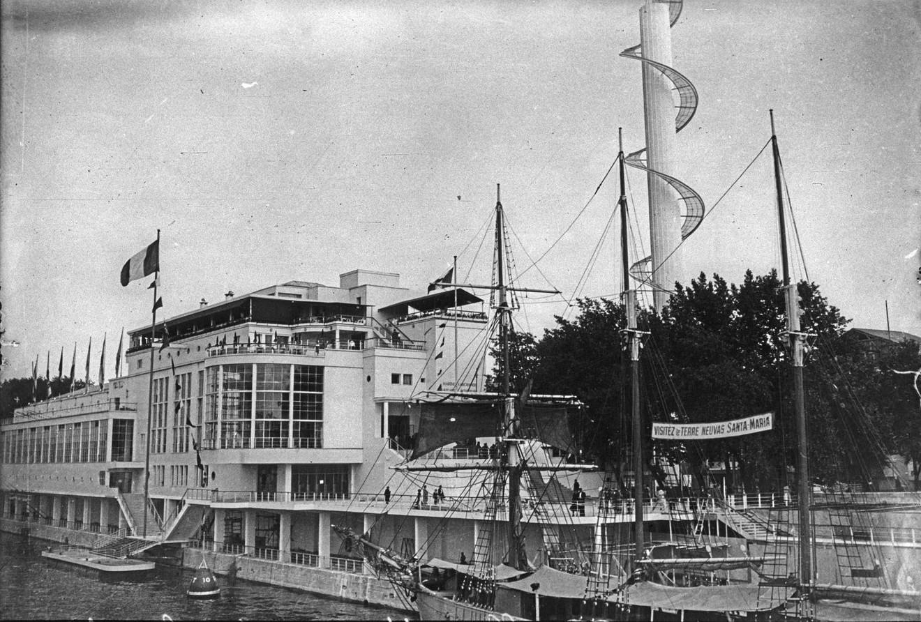 Павильон Торгового флота. Открытие
