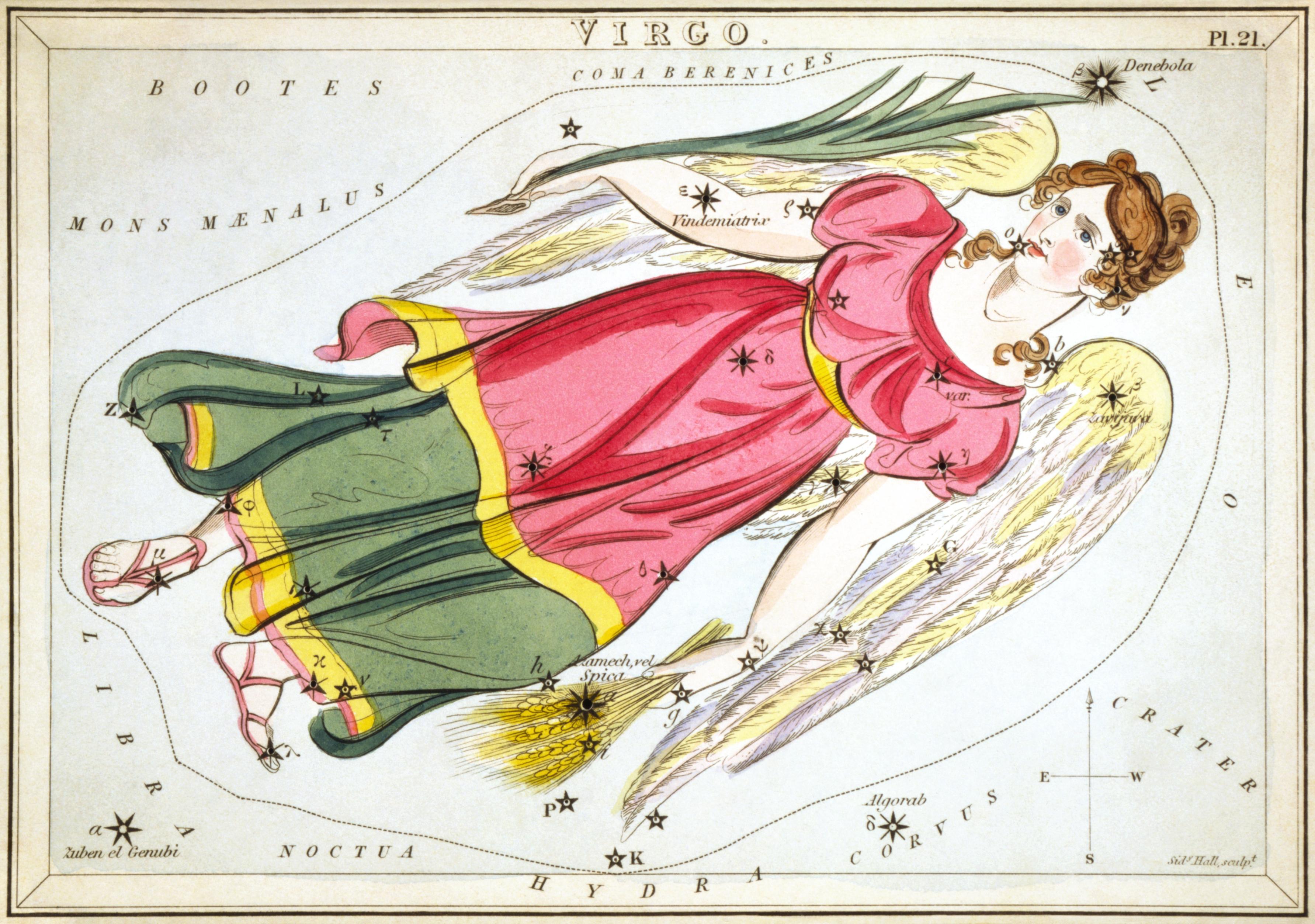 Карточка № 21: Дева