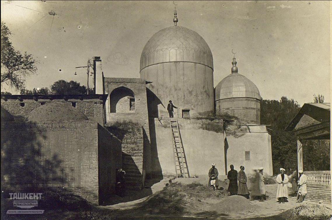 Медресе, мечеть и мазар Занги-Ота