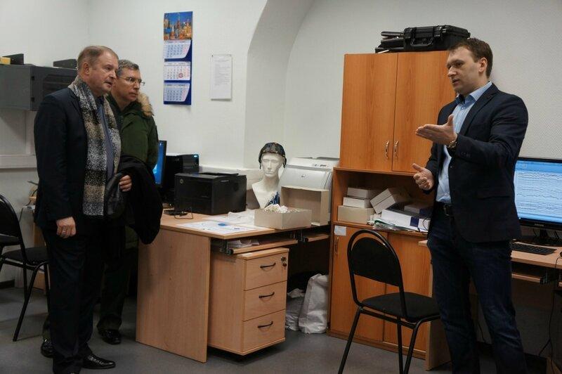 Психофизиологическая лаборатория на факультете психологии МГУ