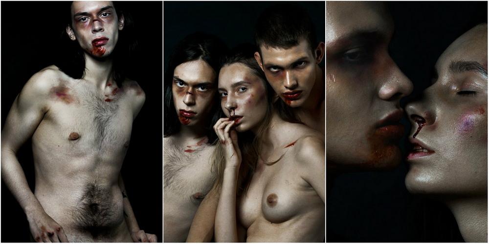 Груди и люди на снимках Софии Возняк