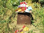 Село Спасское памятник евреям установлен Кремнем Я. А. Фото Колябина.jpg