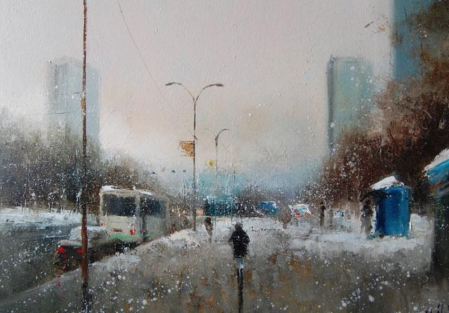 Осень / художник Игорь Медведев