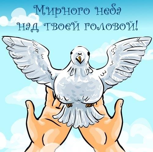 21 сентября — Международный день мира. Голубь. Мира-вам!