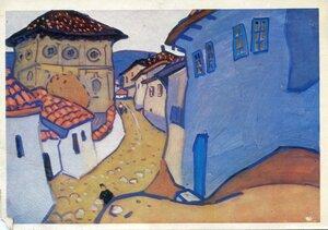 Художник Ю.И. Химич. Бахчисарай. Серый день. Изобразительное искусство, Москва, 1977, 100 тыс.jpg