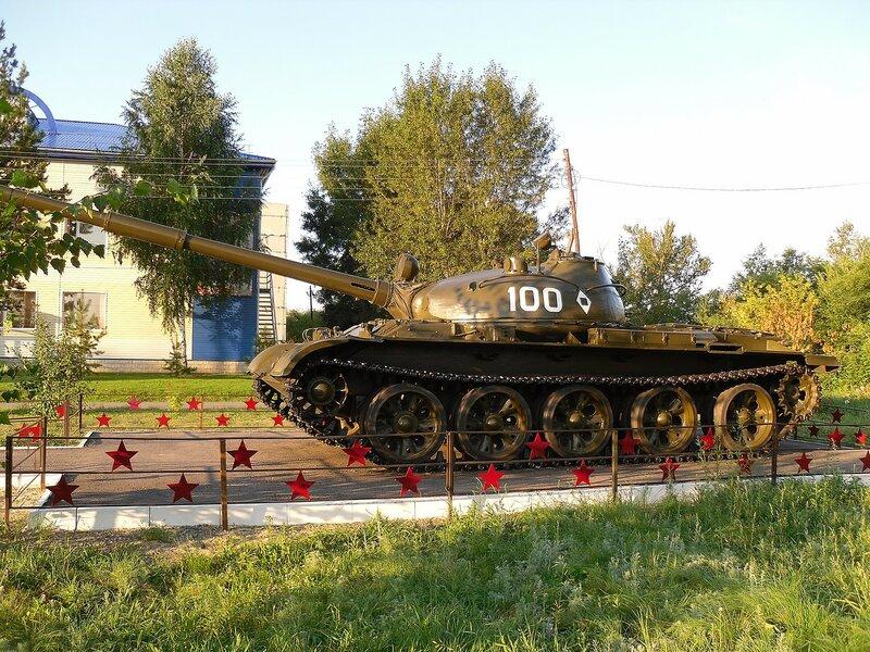 Т-62 в Славгороде.