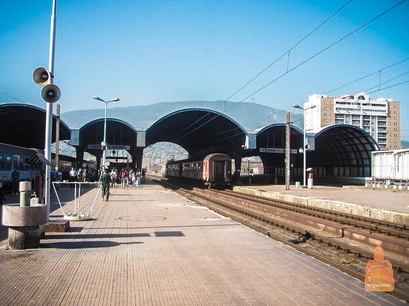 Железнодорожный вокзал в Скопье
