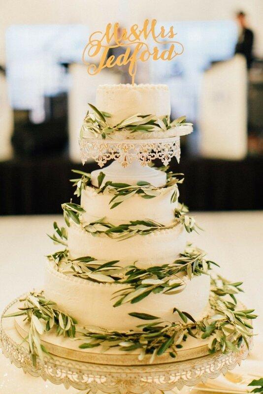 0 1782cb c39fe970 XL - Каким будет ваш свадебный торт в 2018 году
