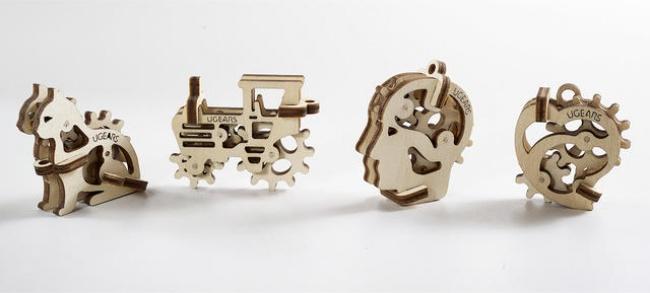 Этот 3D-пазл называется « Трибики », иразработали его специально для самых маленьких любителей соби
