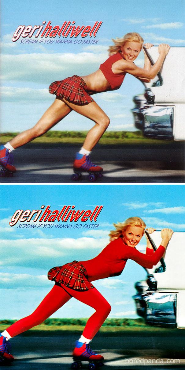 Альбом Джери Холлиуэлл Scream If You Wanna Go Faster.
