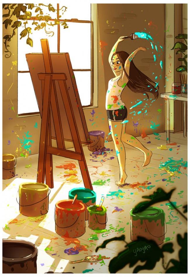 © YAOYAO MA VAN AS   Апотом супоением прибираться втри часа ночи