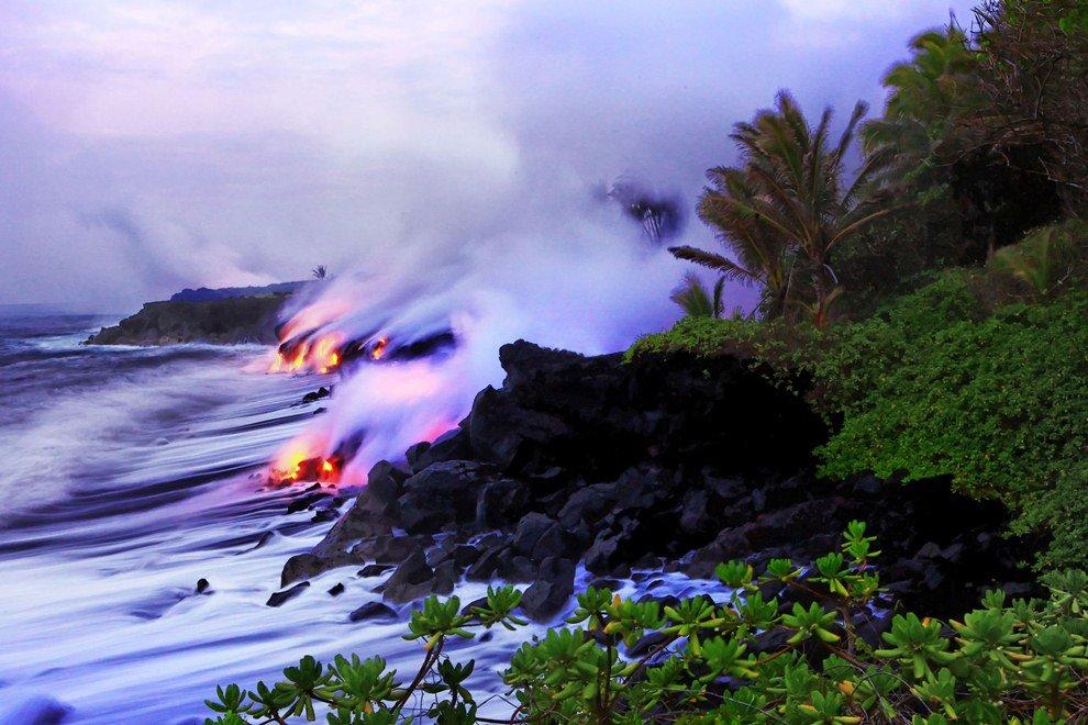 Период образования вулкана — меньше 25 000 лет.