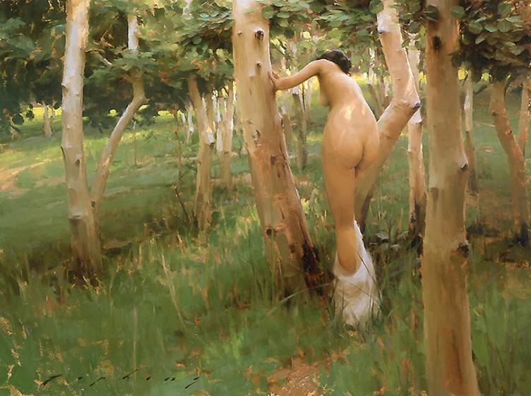 Современная живопись Джереми Липкинга романтична, легка и ненавязчива. Чаще на картинах мы можем уви