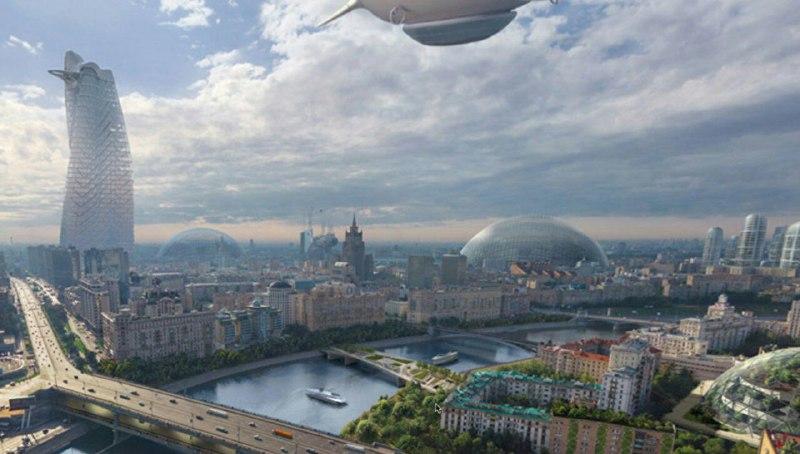 Проект предполагает, что благодаря беспилотным автомобилям через 20-25 лет в Москве совсем не будет