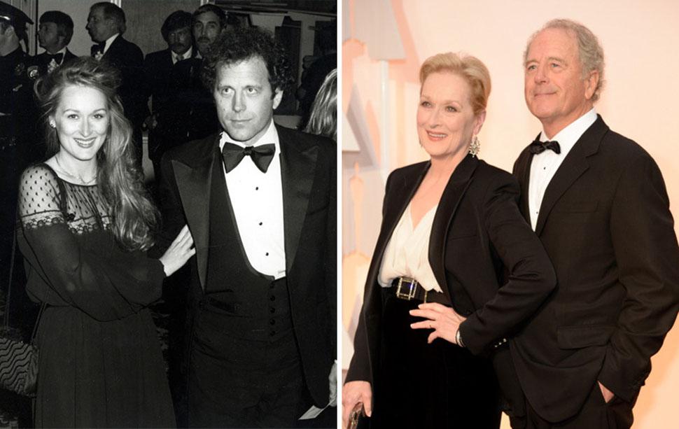 Мерил Стрип и Дон Гаммер, 37 лет вместе.