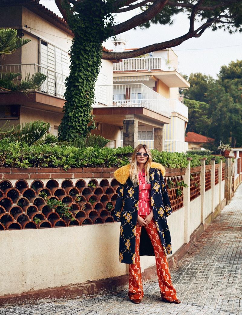 Каролина Коринс на страницах ELLE Spain