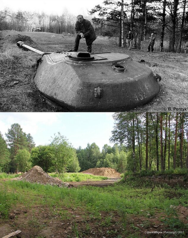 ТОТ «Шахта» с башней танка ИС-4