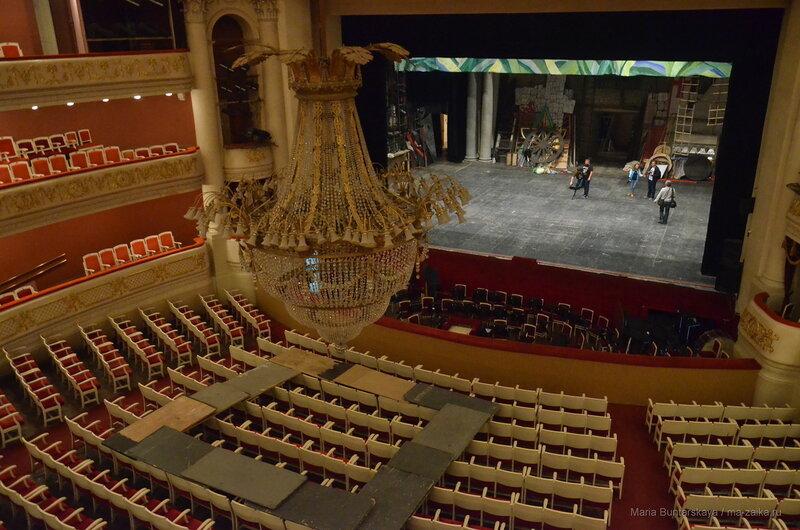 Ах какая люстра, мне б такую, Саратов, театр оперы и балета, 05 сентября 2017 года