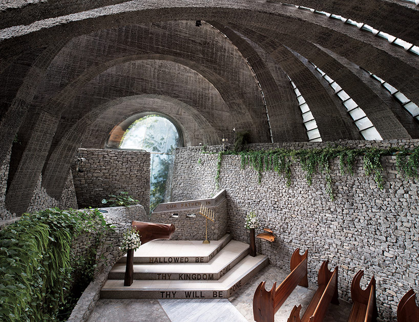 Insolite Church in Nagano