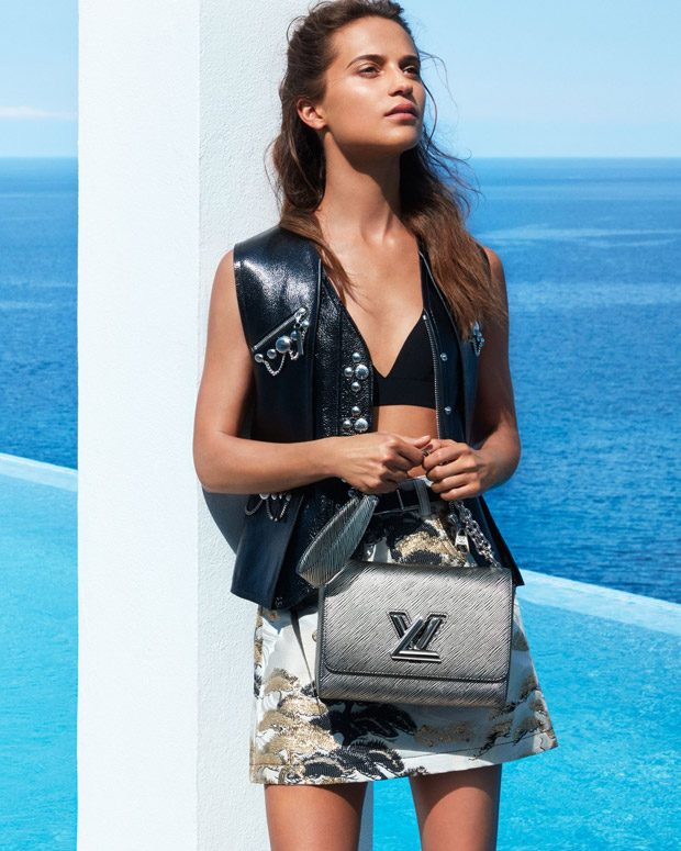 Alicia Vikander is the Face of Louis Vuitton Cruise 2018 Collection (8 pics)