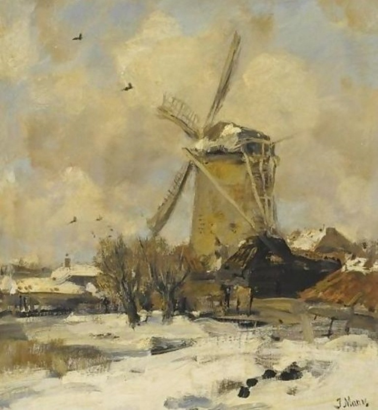 1  Maris_A-Windmill-In-A-Winter-Landscape.jpg