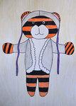 Игрушечный тигрик