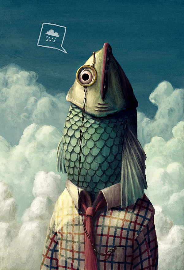 Surrealistic Illustrations - Marco Piunti