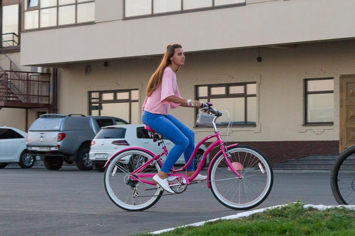 велопарад Леди на велосипеде фото 10