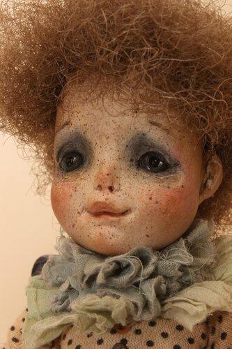 """Авторская кукла из серии """"  Куколка для куколки"""""""