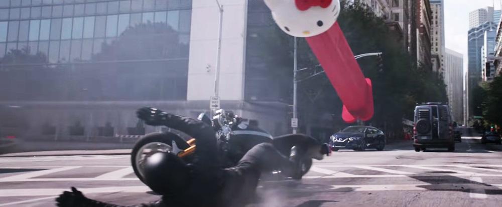 Triumph Thruxton R в новом фильме «Человек-муравей и Оса»