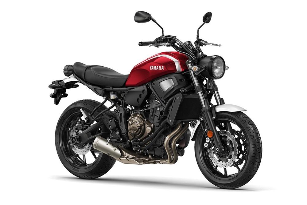 Новые расцветки Yamaha XSR900 / Yamaha XSR700 2018