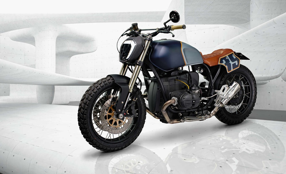 ER Motorcycles: кастом BMW R100 Logan